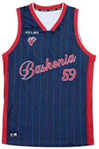 camiseta baskonia retro